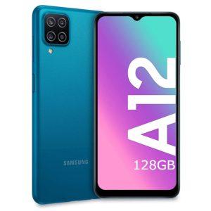Samsung Galaxy A12 blue modra