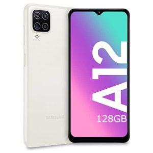 Samsung Galaxy A12 white bela