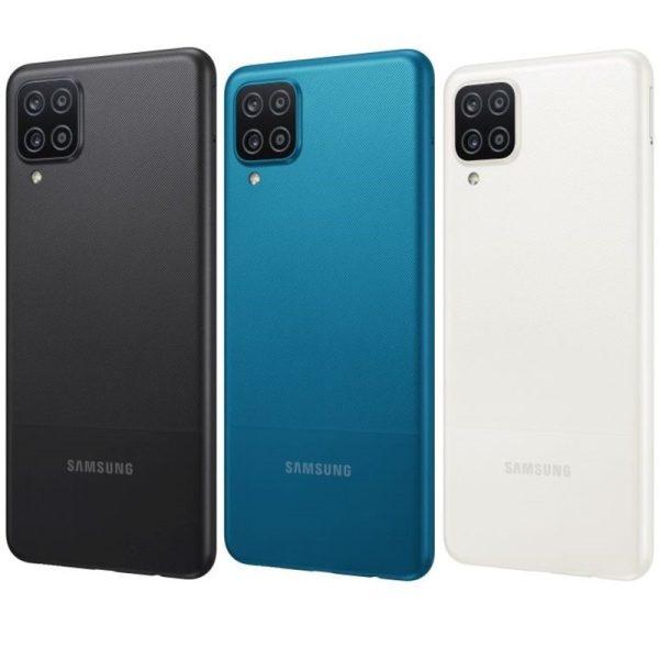 Samsung Galaxy A12 black blue white črna modra bela
