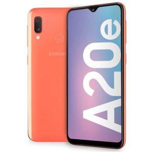 Samsung Galaxy A20e Coral oranžna