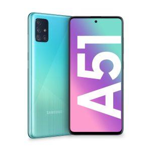 Samsung Galaxy A51 blue modra
