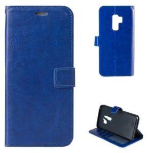 Barvna preklopna torbica modra