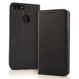 Magnetna preklopna torbica Samsung Galaxy črna