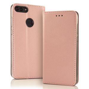 Magnetna preklopna torbica Samsung Galaxy roza