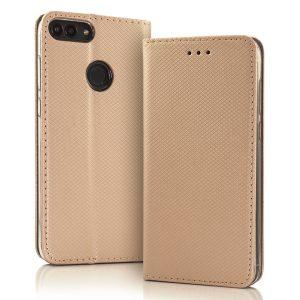 Magnetna preklopna torbica Samsung Galaxy A42 zlata
