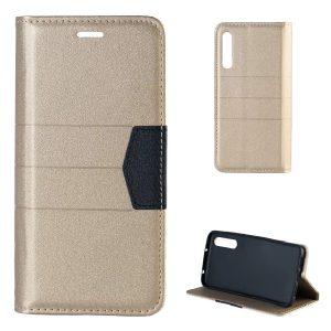 Premium zaščitna preklopna torbica Huawei Mate 20 Pro zlata