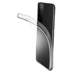 Samsung Galaxy S21 Ultra fine prozoren ovitek Cellularline FINECGALS21UT