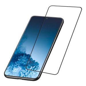 Samsung Galaxy S21 zaščitno steklo Cellularline Impact Glass Capsule TEMPGCABGALS21K
