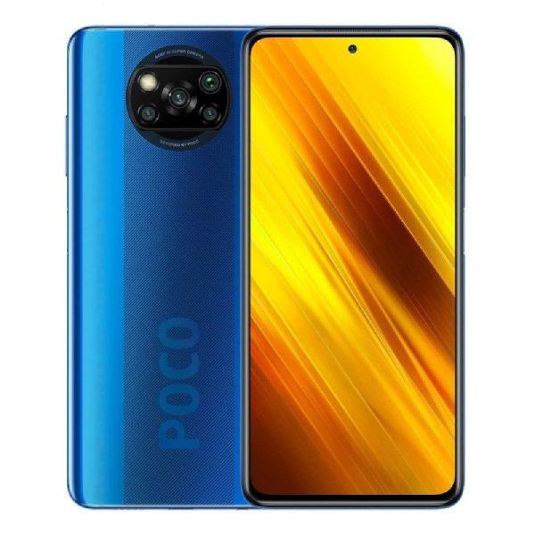 Xiaomi Pocophone X3 NFC Dual SIM Shadow Cobalt blue modra