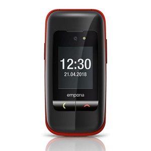 Emporia One V200 klasični preklopni telefon na tipke rdeč