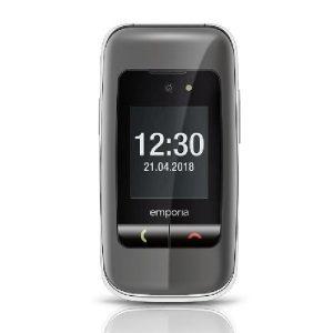 Emporia One V200 klasični preklopni mobilni telefon na tipke Space grey