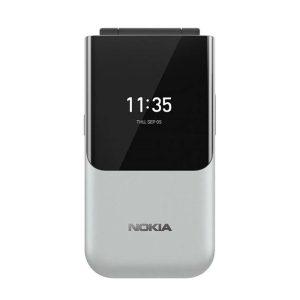 Nokia 2720 Flip srebrna