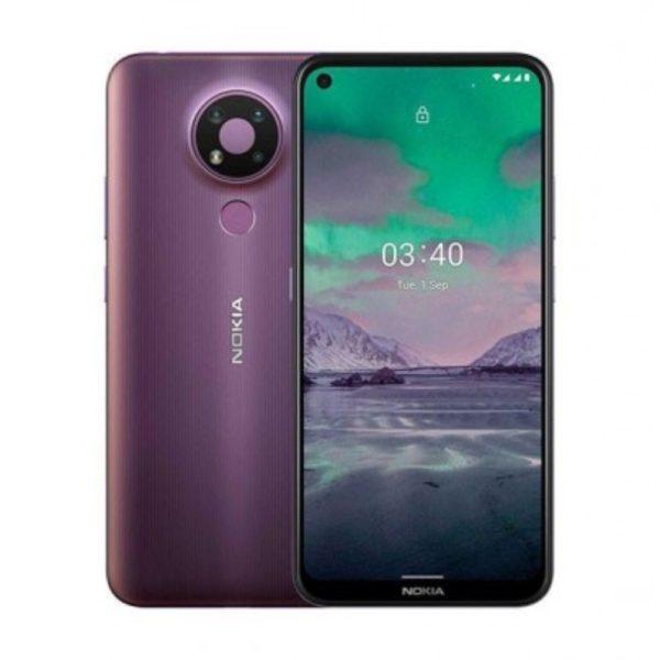 Nokia 3.4 Dual Sim 3GB/64GB Dusk Vijolična