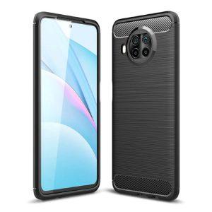 Zaščitni ovitek Carbon Xiaomi MI 10T Lite črn