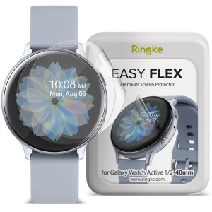 Zaščitna folija za uro Samsung Galaxy Watch Active 1/2 40mm RINGKE Easy Flex 3kos