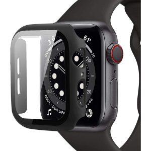 Zaščitno ohišje za uro Apple Watch 4/5/6/SE (40mm) Defense360 črna